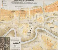 Ninth Ward New Orleans Map by New Orleans Louisiana Hurricanes