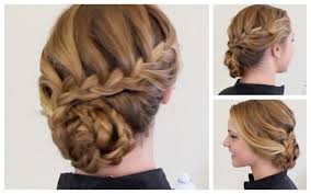 prom hairstyles for short hair updos pictures