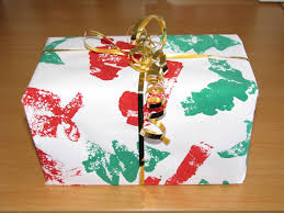 Home Made Christmas Gifts by Homemade Christmas Gift Wrap Learning 4 Kids