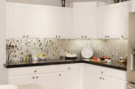 glass tiles for kitchen backsplashes modern white kitchen design using modern white kitchen cabinet