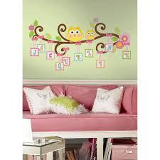 18 in x 40 in disney fairies tinkerbell headboard 7 piece peel 18 in x 40 in scroll tree letter branch 98 piece peel