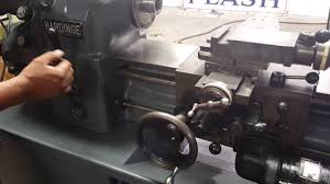 hardinge hlv lathe machine youtube