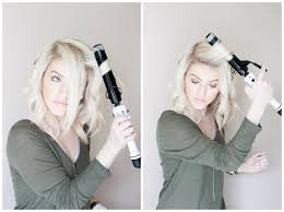 kailey u0027s hair tutorial how to style a long bob double shot of