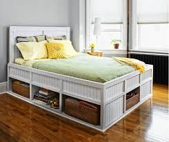 bedroom furniture sets shelf headboard bookcase wooden storage