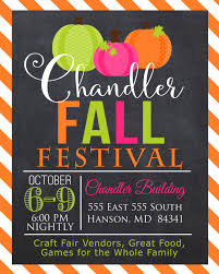 fall festival invitation craft fair invitation digital file