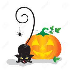 halloween clipart pumpkin chat noir clipart halloween u2013 festival collections