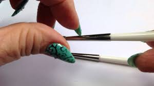ibd silicone brush taper point make your own spikes for nail art