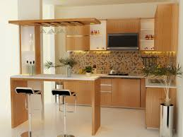Interior Kitchen Decoration Stylish As Well As Attractive Mini Kitchen Design Pertaining To