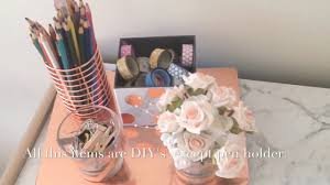 Marble Aesthetic My Aesthetic Desk Tour 2017 Minimalistic Marble And Rose Gold