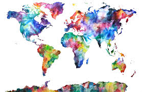 Colored World Map by Quotes About Colored The World 36 Quotes