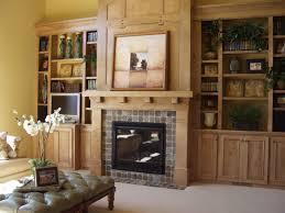 45 bookshelves around fireplace living room home design built