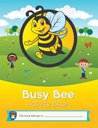 activity book cover for busy bee adventurer leaders pinterest