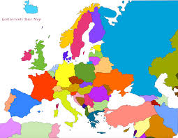 Sub Saharan Africa Physical Map by Customizable Maps Of Europe Asia Etc Geocurrents