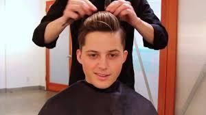 men u0027s haircut tutorial 1920s inspired haircut u0026 3 in 1 hairstyle