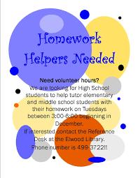 Homework help flyer   Alabama public library live homework help aerolosdhforms tk