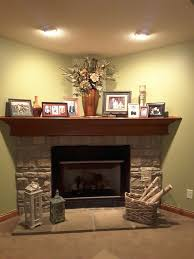 Best  Corner Fireplace Decorating Ideas On Pinterest Corner - Decorate my living room