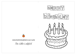 spongebob happy birthday coloring pages free greeting cards coloring pages thelittleladybird com