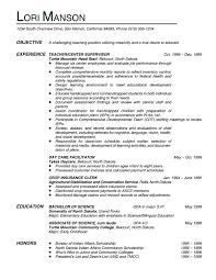 resume for teachers examples resume sample teachera gif teacher       teachers resume example