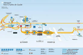 Charles De Gaulle Airport Map Charles De Gaulle Airport Map Map Of Charles De Gaulle Airport