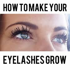 tips for growing longer and thicker eyelashes britney munday