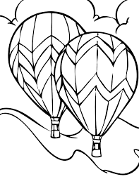 40 air balloon coloring pages coloringstar