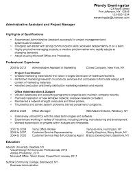 Resume Australia Examples by Resume Mission Statement For Administrative Assistant Executive