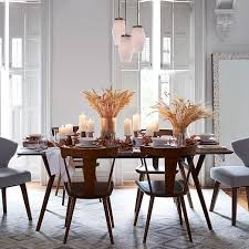 Exciting Mid Century Modern Dining Room Table And Chairs  In - Century dining room tables