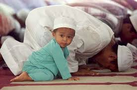 Father and Son in Prayer