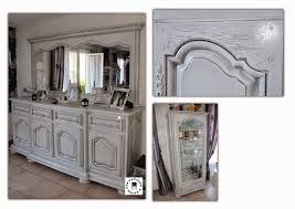 Salle A Manger Chene Blanchi by Les Patines D U0027elise Classic Chic