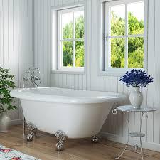 clawfoot bathtubs amazon com kitchen u0026 bath fixtures bathtubs