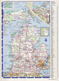Detroit Michigan Map by Map Of Michigan The Name Michigan Is The French Form Of The