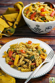 Pasta Salad Ingredients Pasta Salad With Roasted Vegetables This Mama Cooks On A Diet