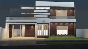 1 kanal house design with basement front elevation house