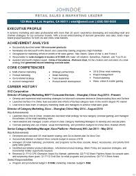 Online Marketing Manager Resume by Marketing Director Resume Example