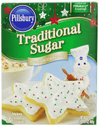 amazon com pillsbury traditional sugar cookie mix 17 5 ounce