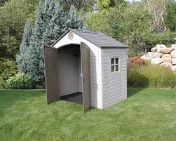 Backyard Storage Building by Backyard Storage Shed Kits Provides Ample Headroom Galvanized