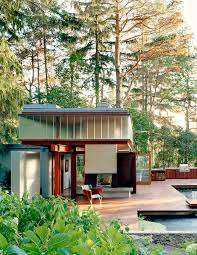 Pool Guest House Ravine Guest House Toronto Canada Shim Sutcliffe Architects