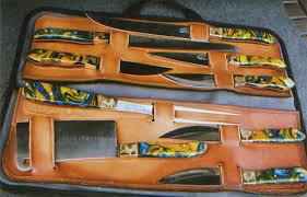 Kitchen Knive Sets Model 805 A Master Chef U0027s 9 Piece B B Q Knife Set Sunrise River
