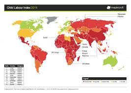 Somalia World Map by The Global Crisis Of Child Labor In 1 Map Huffpost