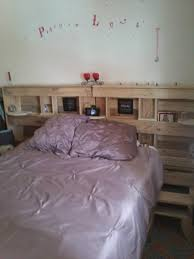 Woodworking Plans For A Platform Bed With Drawers by Build A Bed Frame From Pallets 4 Storage Bed Most Popular Of Diy
