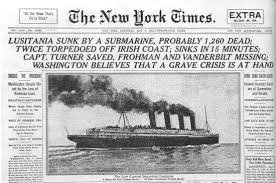 Post Thumbnail of Lusitania Tragedy to be remembered in Cobh