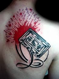 cassette tape tattoo picture