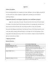 Apple Case Study Apple Inc      Apple reports second   BUSINESS M