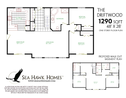 ranch style floor plans with walkout basement awesome ranch style