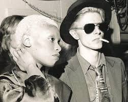 Ava Cherry and David Bowie in the mid     s Chicago Reader