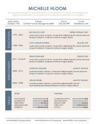 good resume layout   Good Resume Layout