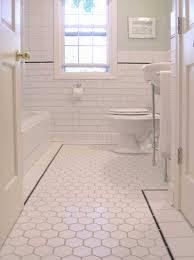 ceramic floor tile samples and installation classique