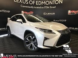 lexus made in canada new 2017 lexus rx 450h executive plus package 4 door sport utility