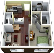 1 bedroom floor plans for apartment design ideas 2017 2018