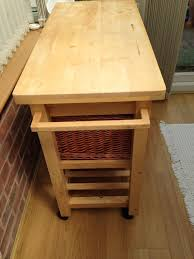 kitchen trolley butchers block in droitwich worcestershire kitchen trolley butchers block image 1 of 5